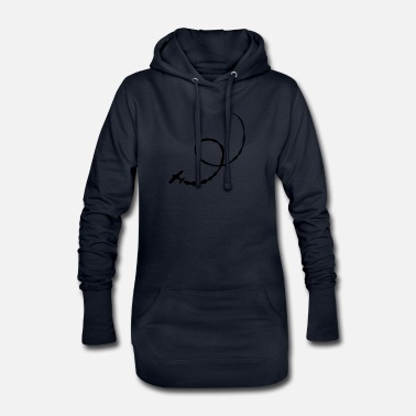 Stunt stunt plane - Women's Hoodie Dress