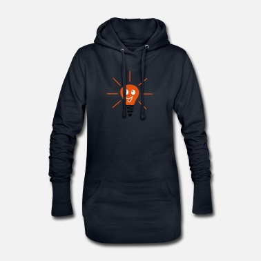 Light light - Women's Hoodie Dress