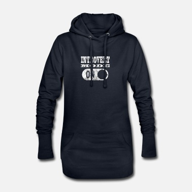 Mode INTROVERT MODE Introvert mode! - Women's Hoodie Dress