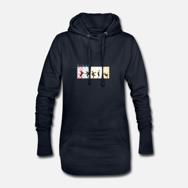 Break break dancing - Women's Hoodie Dress