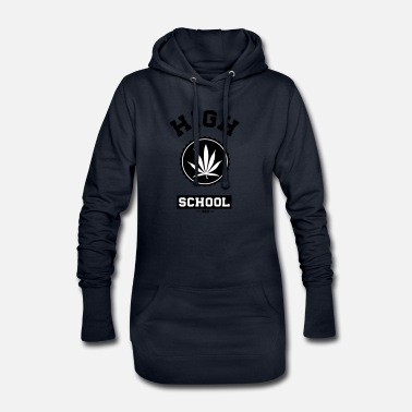 High Times HIGH SCHOOL - Vestito felpa donna