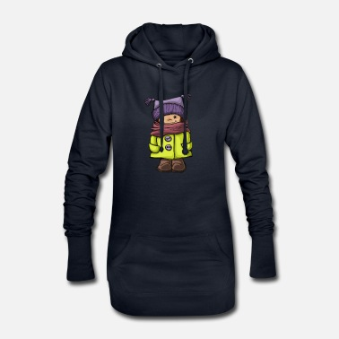 Winter winter - Women's Hoodie Dress