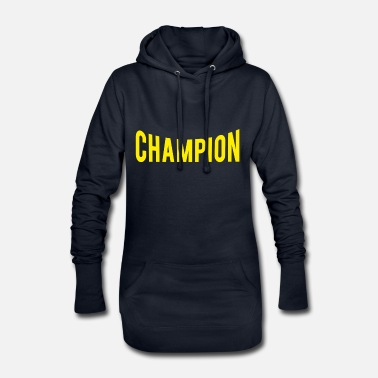 Record Champion champion - Women's Hoodie Dress