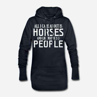 Expression amour de cheval - Robe sweat Femme