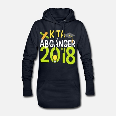 School KITA ABGÄNGER school child enrollment elementary school - Women's Hoodie Dress