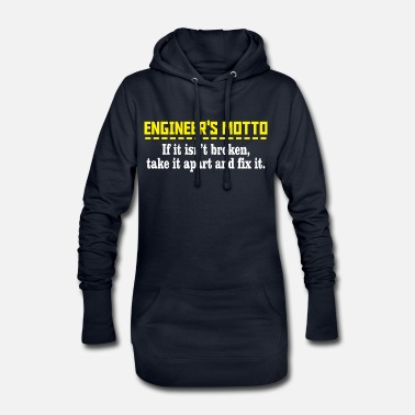 Motto Engineers motto - Women's Hoodie Dress