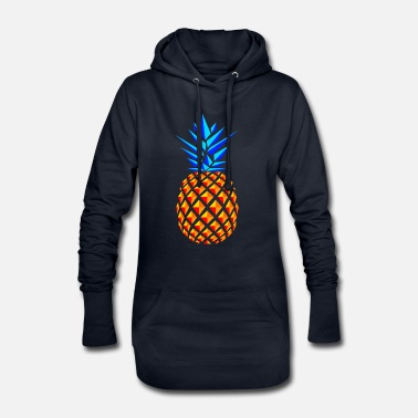 Trend TREND PINEAPPLES - Frauen Hoodiekleid