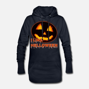 i like helloween - Frauen Hoodiekleid