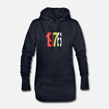 Established Established 1976 - Frauen Hoodiekleid