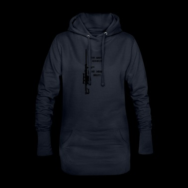 Another statement - Hoodie-Kleid