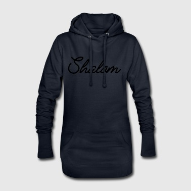 Shalom - Sweat-shirt à capuche long Femme