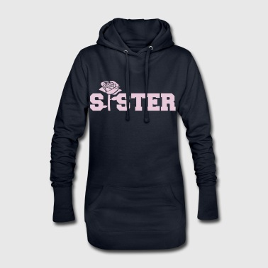 Sister - Sweat-shirt à capuche long Femme