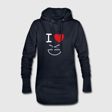 I love Asian gift idea - Hoodie Dress