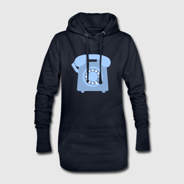 telephone telefon phone handy communication - Hoodie-Kleid