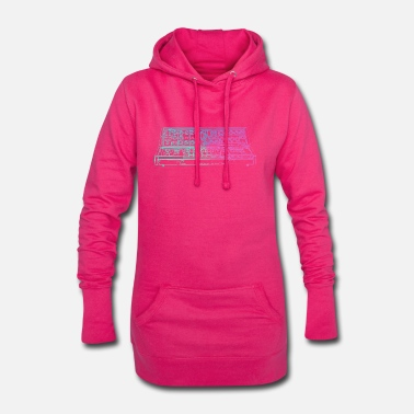 Synthesizer Synthesizer - Hoodie-Kleid