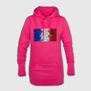 French Flag French flags. - Hoodie Dress
