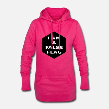 I am a false flag - Hoodie Dress