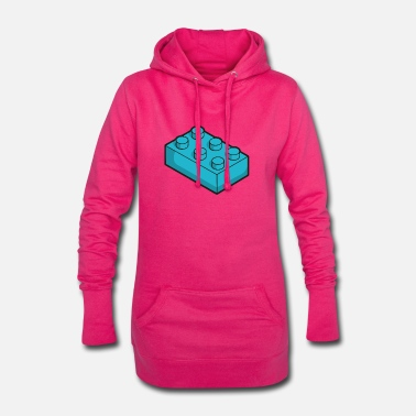 Toy Toy cubes - Women's Hoodie Dress