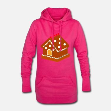 christmas house - Women's Hoodie Dress