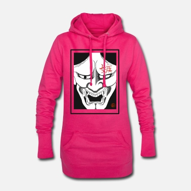 Japanese demon - Women's Hoodie Dress