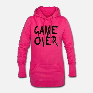 Game game over - Women's Hoodie Dress