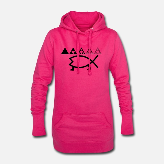 Development Hoodies & Sweatshirts - Evolution - Women's Hoodie Dress fuchsia