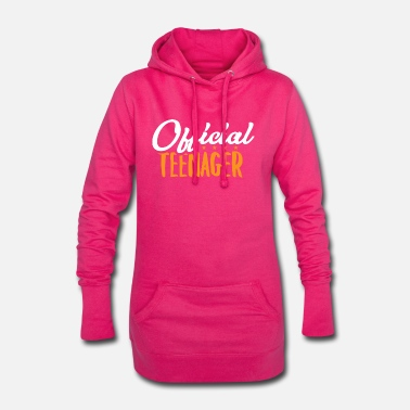 Teen Official Teen - Teens Teen Teen Gift - Women's Hoodie Dress
