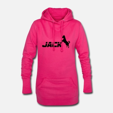 Jack Chien / Jack Russell Jack - Robe sweat Femme