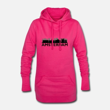 skyline amsterdam - Women's Hoodie Dress