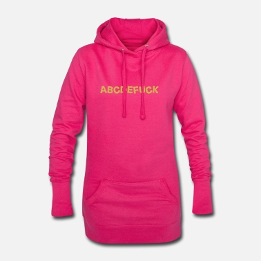 Alphabet alphabet - Women's Hoodie Dress