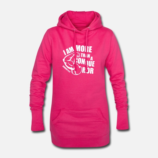 Catholique Sweat-shirts - Plus qu'un conquérant - Robe sweat Femme fuchsia