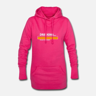 Party Party Time - Frauen Hoodiekleid
