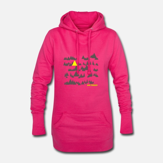 Friends Hoodies & Sweatshirts - BIG FOREST - Great Forest - Women's Hoodie Dress fuchsia
