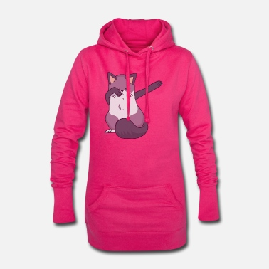 Tampon tamponner chat tamponner - Robe sweat Femme
