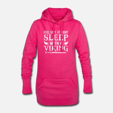 Viking Sleep with a Viking feel safe at night - Women's Hoodie Dress