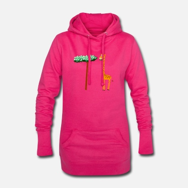 bilba the gourmet giraffe - Women's Hoodie Dress