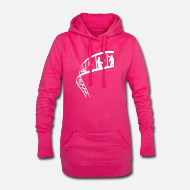 Strip Film Strip - Frauen Hoodiekleid