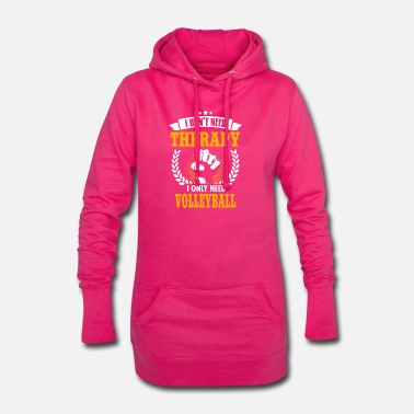 Volleyball volleyball - Hoodie Dress