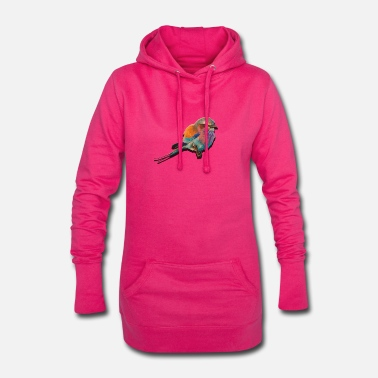 colorful bird - Women's Hoodie Dress