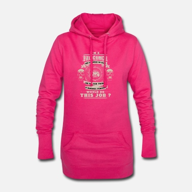 Legende gaming gamer skøre advart job badass hårdt over - Hoodie kjole dame