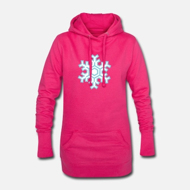Snowflake Snowflake - Women's Hoodie Dress