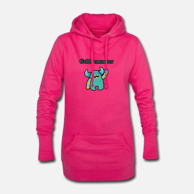 Monstre monstre - Robe sweat Femme