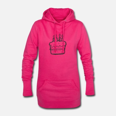 Cake Birthday cake - Women's Hoodie Dress