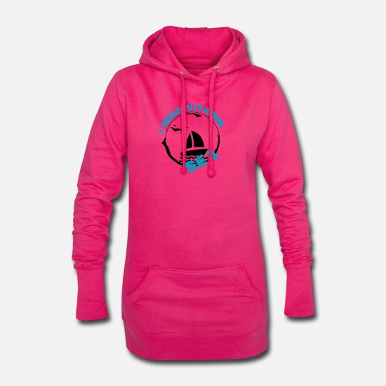 Pêcheur Sweat-shirts - Voile Vitamin Sea - Robe sweat Femme fuchsia