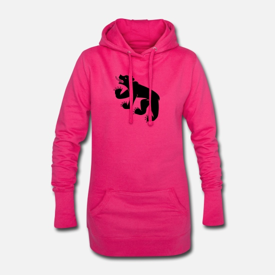 Bern Hoodies & Sweatshirts - bern - Women's Hoodie Dress fuchsia