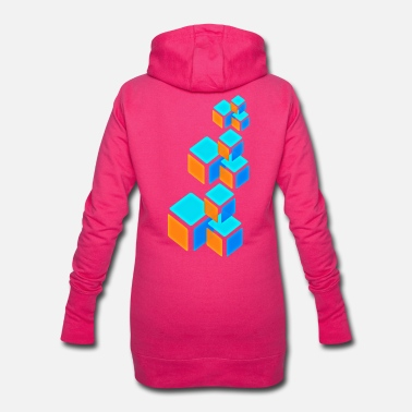 Cube cube - Women's Hoodie Dress