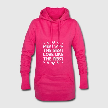 Mess with best loose king queen butcher meatier h - Hoodie Dress