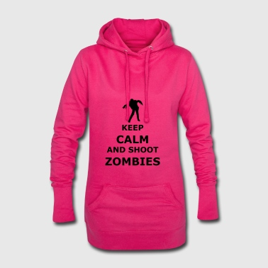 keep calm zombie - Hoodie Dress