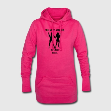 Girls statement - Hoodie Dress