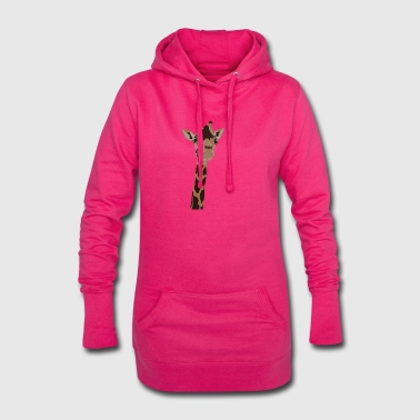 Giraffes head - Hoodie Dress